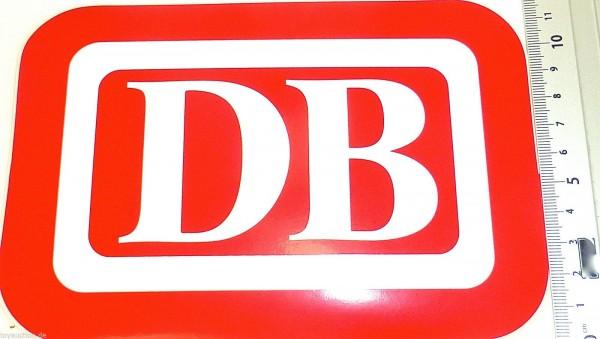 Aufkleber DB Logo Deutsche Bundesbahn ca 18x12 cm å *