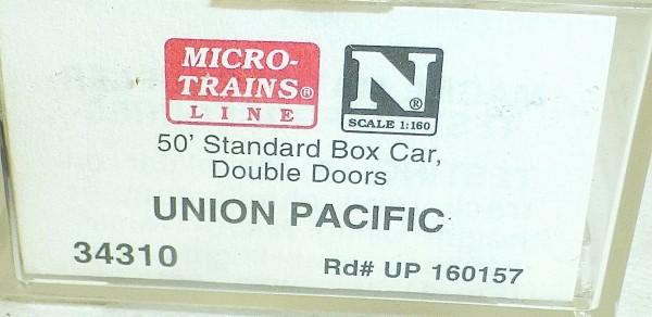 Micro-Trains Line 34310 Southern Pacific 50' Standard Box Car N 1:160 A å *
