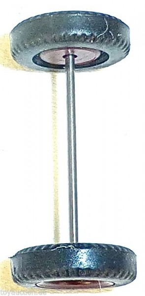 115 x Radsatz 28mm Achsbreite braun Gummi ohne Profil Herpa Albedo 1:87 R11 å