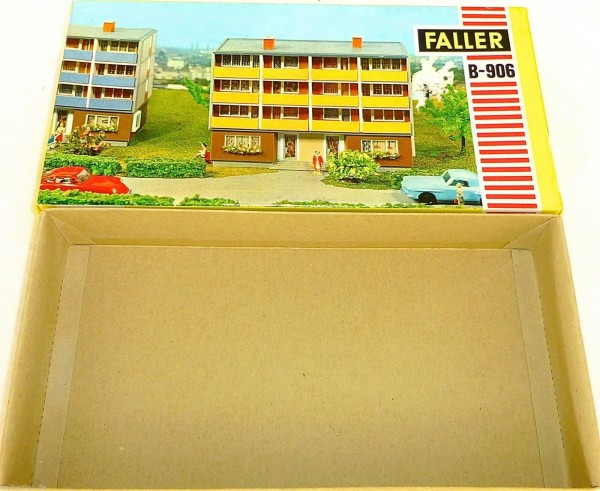 Wohnhaus FALLER B 906 NUR DER LEERE KARTON LEERKARTON #HQ4 å
