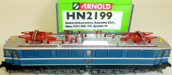 E251 006 blau Messelackierung DR EpIII ARNOLD HN2199 NEU 1:160 OVP µ *
