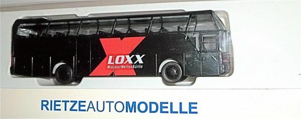 Loxx Miniaturwelten Berlin RIETZE Neoplan Cityliner BUS OVP neuwertig 1/87 UJ1 µ