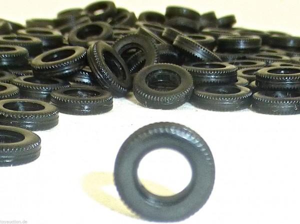 200 x Reifen 12mm Durchmesser Profil Herpa Albedo 1:87 R12 R297 LADEGUT LL2 å *