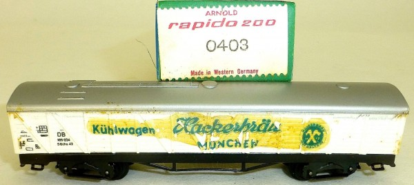 Hackerbräu DB Kühlwagen 0403 ARNOLD rapido 200 N OVP HQ3 µ *