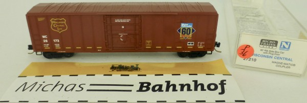 Wisconsin Central 50' Rib Side Boxcar 26173 Micro Trains Line 27210 1:160 P36 å