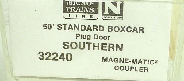 50´ Standard Boxcar SOUTHERN 522626 Micro Trains Line 32240 N 1:160 C å *