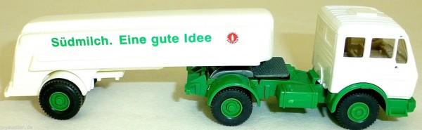 Südmilch Tanksattelzug Mercedes ohne Auspuff 1:87 H0 å *