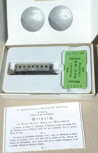 1995 Spielwarenmesse Eisenbahnen in Württemberg Märklin Spur Z 1:220 OVP å