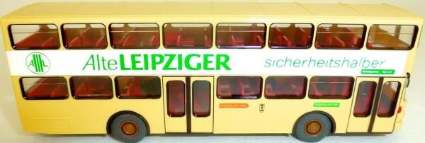 19 Roseneck ALTE LEIPZIGER grün SD 200 GESUPERT aus WIKING Bus H0 1:87 GD4å