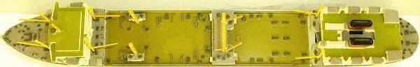 Willem Barendsz HANSA 49 Schiffsmodell 1:1250 SHPI25 å *