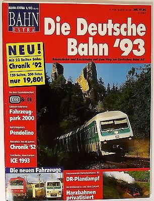 Bahn Extra 1 93 Die Deutsche Bahn 93 å