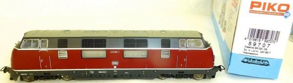 BR 220 Diesellok gr Klappe DB EpIV für Märklin AC Piko 59707 H0 1:87 OVP LC3 µ *