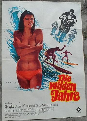 Die Wilden Jahre mit Jacqueline Bisset Filmplakat å