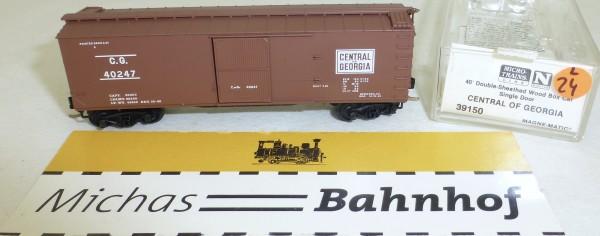 MICRO TRAINS 39150 Central of Georgia 40' Wood Sheathed Boxcar N 1:160 OVP #24L å