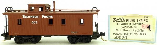 Micro Trains Line 50070 SP 603 34' Wood Sheathed CABOOSE 1:160 OVP #K011 å