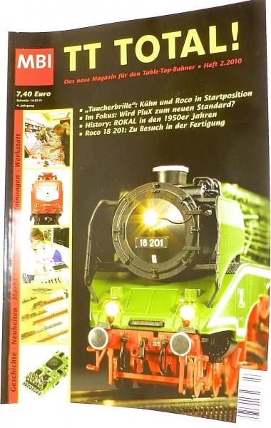 TT Total 4te Jahrgang Heft 2.2000 aus 2010 MBI µ *