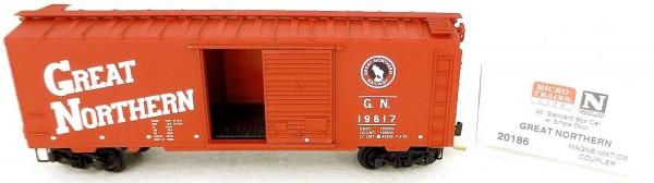 40´ St Boxcar Great Northern 19617 Micro Trains Line 20186 N 1:160 D å *