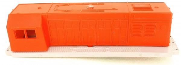 YM 32 Gehäuse Diesellok in rot grau Sonderfarbe BTTB TT 1:120 LF2 å