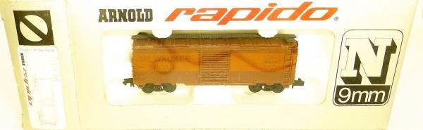 Milwaukee Road Güterwagen ARNOLD rapido 0411M N 1:160 OVP HU3 å *