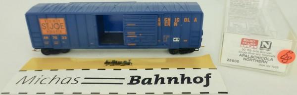 Apalachi Northern 50' Rib Side Boxcar 7033 Micro Trains Line 25600 1:160 P08 å