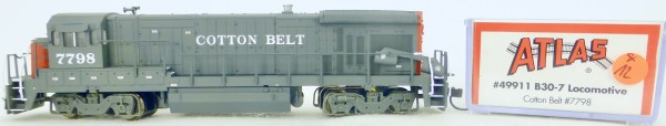 Atlas 49911 B30-7 Cotton Belt 7783 Diesellok Decoder Ready OVP N 1:160 #12& å