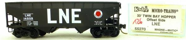 Micro Trains Line 55270 LNE 14859 33' Twin Hopper OVP 1:160 #K126 å