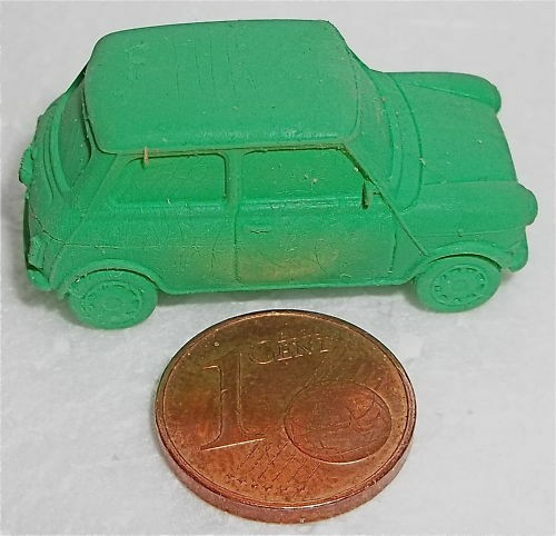 Mini Cooper GRÜN Radiergummi Geburtstag Rover å LI2