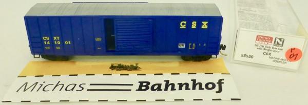 CSX 50' Rib Side Boxcar 141001 Micro Trains Line 25550 1:160 P01 å