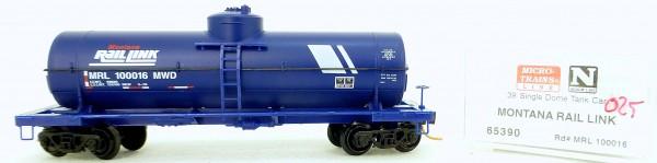 Micro Trains Line 65390 MRL 100016 MWD 39' Single Dome Tank Car 1:160 OVP #i025 å