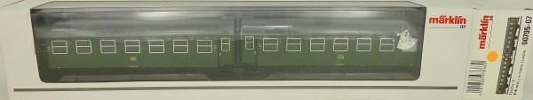 Märklin 00795-07 B3yge 761 Umbauwagen Paar DB 1./2. Kl EpIV H0 1:87 NEU µ