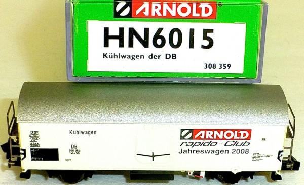 rapido Club Jahreswagen 2008 Kühlwagen DB ARNOLD HN6015 N 1:160 NEU OVP å *