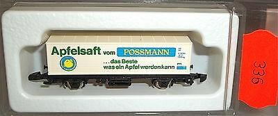 Possmann Apfelsaft Kolls 88004 Containerwagen Märklin 8615 Spur Z 1:220 x336 å