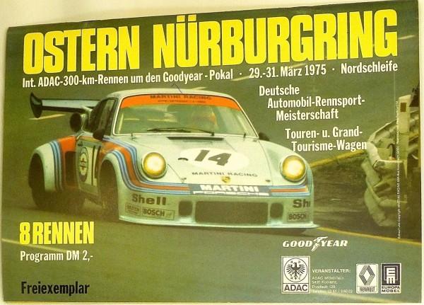 29.-31.März 1975 DM Touren u. Grand Tourisme Nürburgring PROGRAMMHEFT VIII08 å *