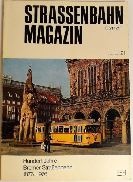 Straßenbahn Magazin Heft 21 August 1976, S. 162-240 Franckh'sche Verlagshandlung