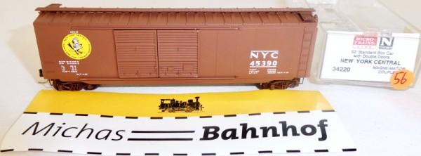 New York Central 50´ Boxcar Micro Trains Line 34220 N 1:160 Ω56 å