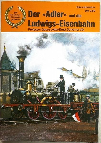 Der Adler und die Ludwigs Eisenbahn Lotter Schöner å *