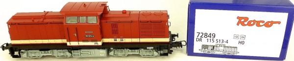 Roco 72849 DR 115 513-4 Diesellok Digital SOUND H0 1:87 OVP NEU Hi4 *