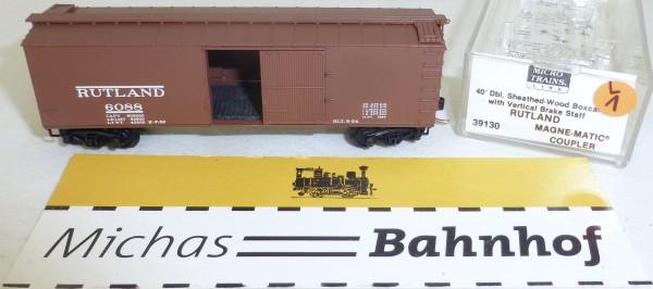 MICRO TRAINS 39130 Rutland 6088 40' Sheathed Wood Boxcar N 1:160 OVP #01L å