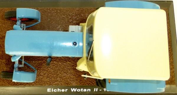 Eicher Wotan II 1968 hellblau Traktor ATLAS 1:32 OVP 015 NEU µ*