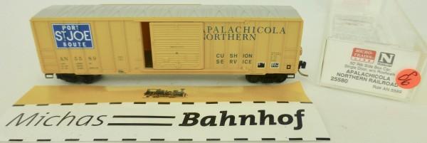 Apalachicola Northern RR 50' Rib Side Boxcar Micro Trains Line 25580 1:160 P06 å