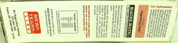 50´ Standard Boxcar WABASH 21544 Micro Trains Line 31150 N 1:160 C å*