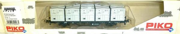 Behältertragwagen fünf Behäter Lb4010 DR EpVI Piko 54426 H0 1:87 OVP HU2 µ