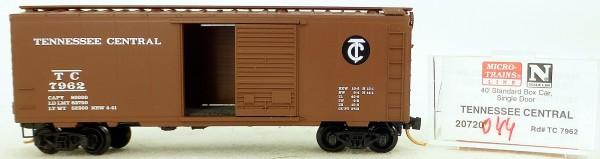 Micro Trains Line 20720 T.C. 7962 40' Standard Boxcar 1:160 OVP #H044 å