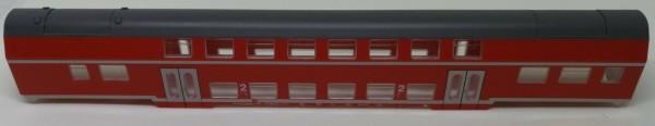 Piko Gehäuse Doppelstockwagen verkehrsrot Ersatzteil 804-4 1:87 H0 LI4 å*