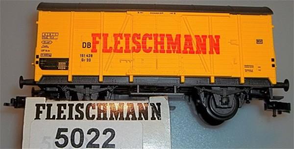 Fleischmann Güterwagen 5022 OVP Pappkarton Packung NEU 1:87 H0 LB3 å *