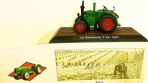 Le Percheron T 25 1947 grün Traktor ATLAS 1:32 OVP 013 NEU LI1 µ*