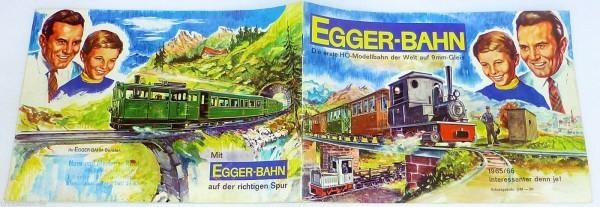 Mit Egger Bahn auf der richtigen Spur KATALOG 1965 1966 å