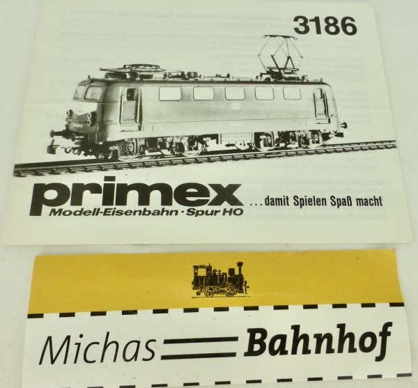 3186 Primex Märklin Anleitung å
