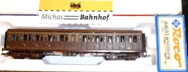 Roco 44693 FS Abteilwagen3.Klasse braun KKK NEM Ep3 H0 1:87 OVP KC4 å