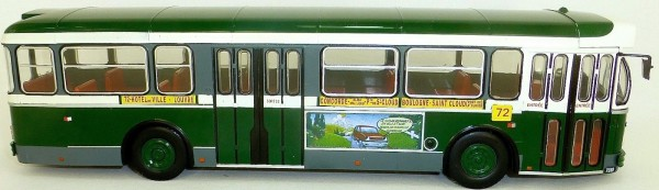 SAVIEM SC10U France 1965 Bus IXO 1:43 OVP NEU #ACBUS039 #HI6 µ *